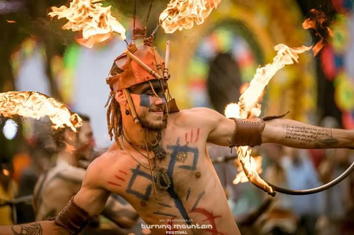 Icona Performance Burning Mountain Festival - CH